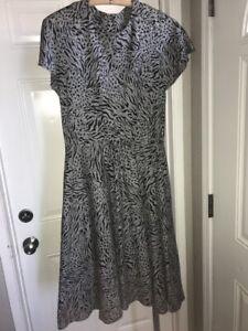 Evening Dress Vintage Clothing Vintage Maxi Dress Hand Made Vintage 1960 Vintage Clothing One of A Kind Petite Extra Small Black Dress