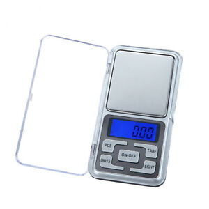 Portable Mini Digital Scale Jewelry Pocket Balance Weight Gram LCD 200g x 0.01g 699940584451