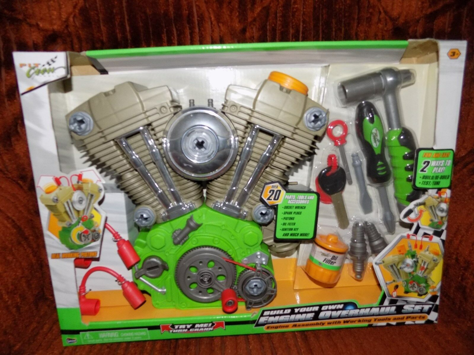 BUILD YOUR OWN ENGINE OVERHAUL SET, PIT CREW TOOLS, ASSEMBLY, NEWINBOX