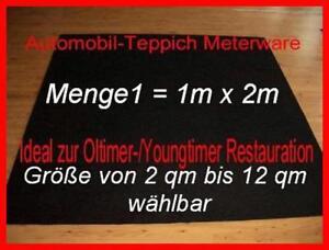 12 50 m teppich autoteppich meterware schwarz innenraumteppich filz vlies ebay. Black Bedroom Furniture Sets. Home Design Ideas