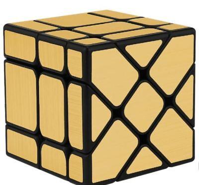 Moyu Mofang Fisher Mirror 3x3x3 Rubik S Cube Gold Ebay