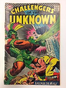 Challengers-of-the-Unknown-56-Comic-Book-DC-1967