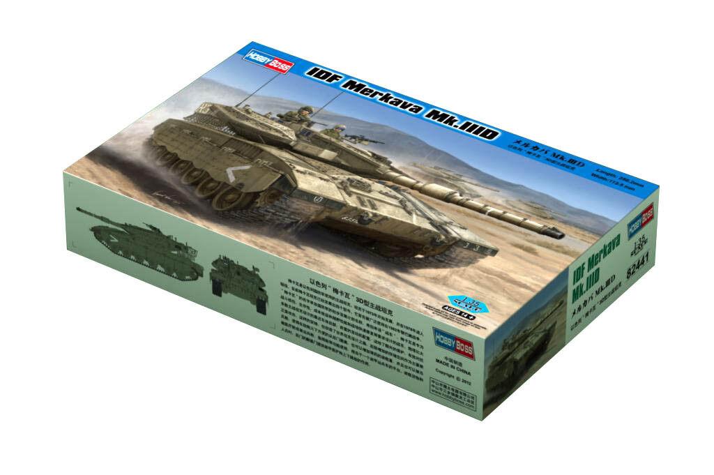 Hobby Boss 3482441 IDF Merkava Mk.IIID 1 35 Panzer Kampfpanzer Modell Modellbau  | Neue Produkte im Jahr 2019