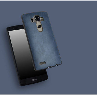 NEW 360° Protective Shockproof HQ Slim Soft Leather Back Case Cover For LG G4
