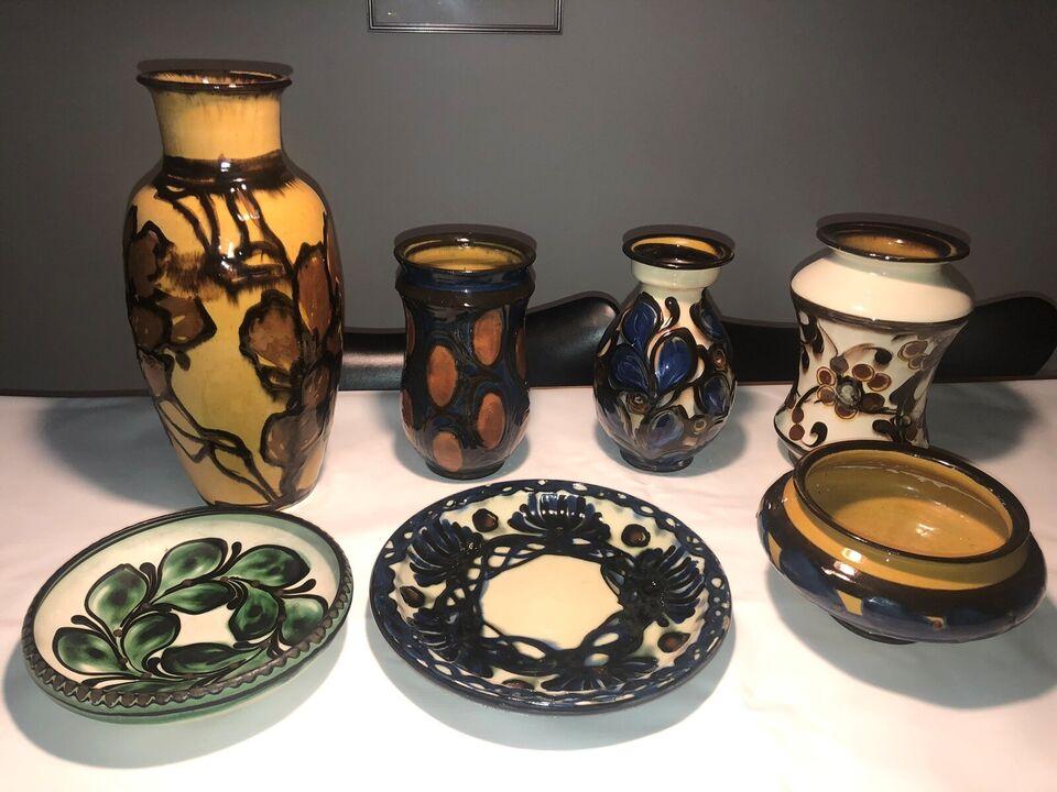 Keramik, Vaser og fade, Kähler / Kæhler