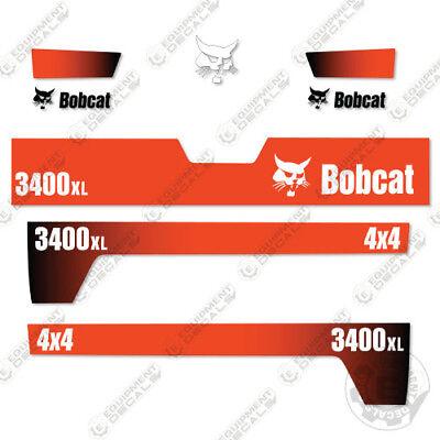 Bobcat 3400xl 4x4 Nützlichkeit Fahrzeug Ersatz Zeichen 2010 SpäTester Style-Online-Verkauf Von 2019 50%