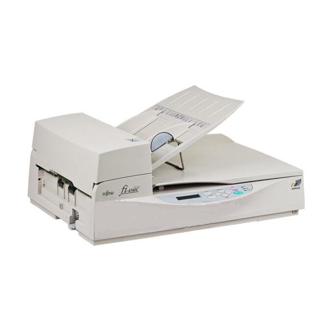 Fujitsu FI-4340C Flatbed Color Duplex Scanner