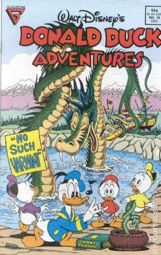 Donald Duck Adventures #18 VF 1989 Stock Image