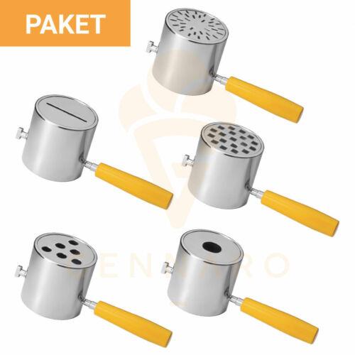 Presseinsatz Paket für elektrische Spaghettieispresse TAFECEispresse Zubehör