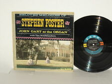 John Gart with the Southlanders Beloved Melodies of Stephen Foster LP 1960 Organ