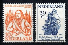 Netherlands - 1957 Michiel de Ruyter Mi. 697-98 MNH