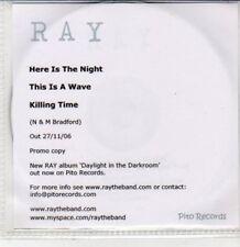 (DG336) Ray, Here is the Night - 2006 DJ CD