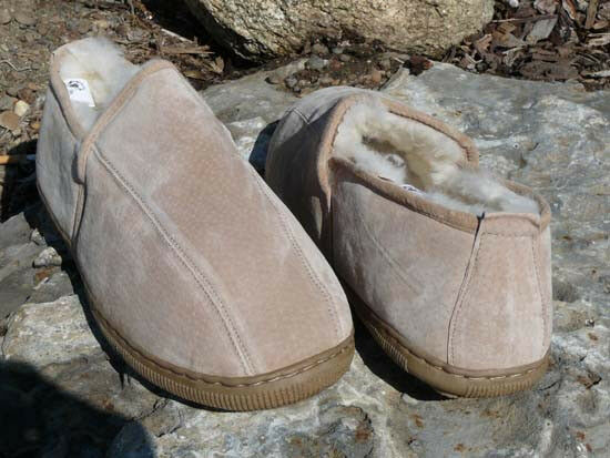 Men's Dunstin Australian Shearling Sheepskin Slippers