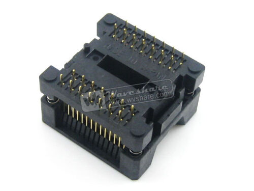 OTS-28-1.27-04 IC Test Burn-in Socket for SOP28 SO28 SOIC28 1.27mm Pitch Enplas
