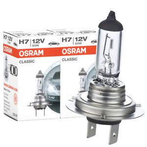 2x Osram H7 12V 55W  Lampe Autolampe Glühlampe Birne Duo Set Glühbirnen Birnen