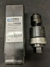 Temco 34 Conduit Hole Size Knockout Punch With Manual Draw Stud Used 10 Off