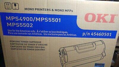 36k Yield TCM Brand Okidata MPS4900 MPS5501 MPS5502 Toner Cartridge 45460501