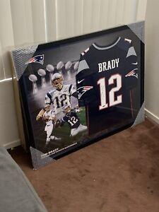 Tom Brady Framed Jersey 42x30 Authenticated By Tristar | eBay