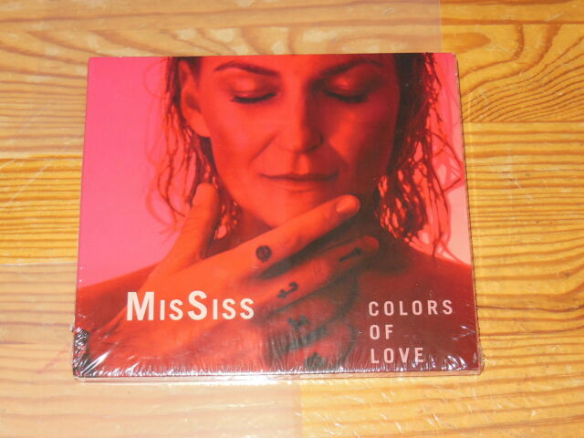 MISSISS - COLORS OF LOVE / DIGIPACK-CD 2017 OVP! SEALED!