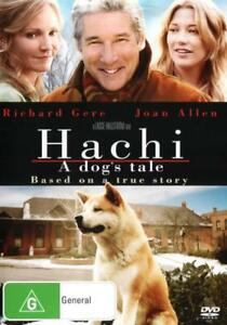 Hachi-A-Dog-039-s-Tale-NEW-DVD-Richard-Gere-Joan-Allen-Region-4-Australia