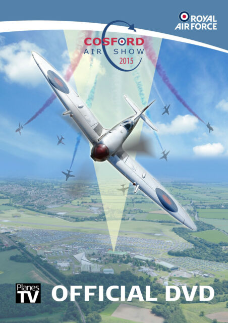 RAF Cosford Airshow 2015 Official DVD - Aircraft Aviation Planes Warbirds Jets