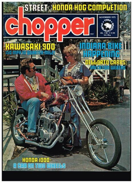 STREET CHOPPER APRIL 1974 SEE CONTENT AEE 70s STYLE
