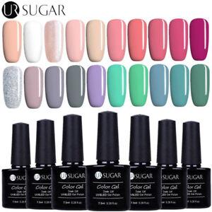 7-5ml-Nail-Art-Vernis-a-Ongles-Semi-permanent-UV-Gel-Polish-Manucure-UR-SUGAR