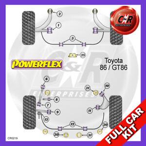 Powerflex BLACK Poly For Toyota GT86 Track//Race Gearbox Rear Mount Insert