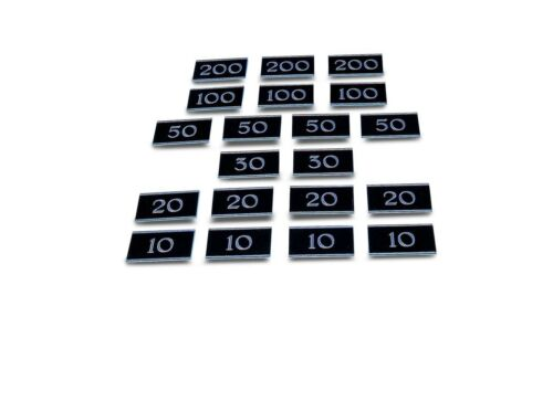 Bar Billiards Table Numbers