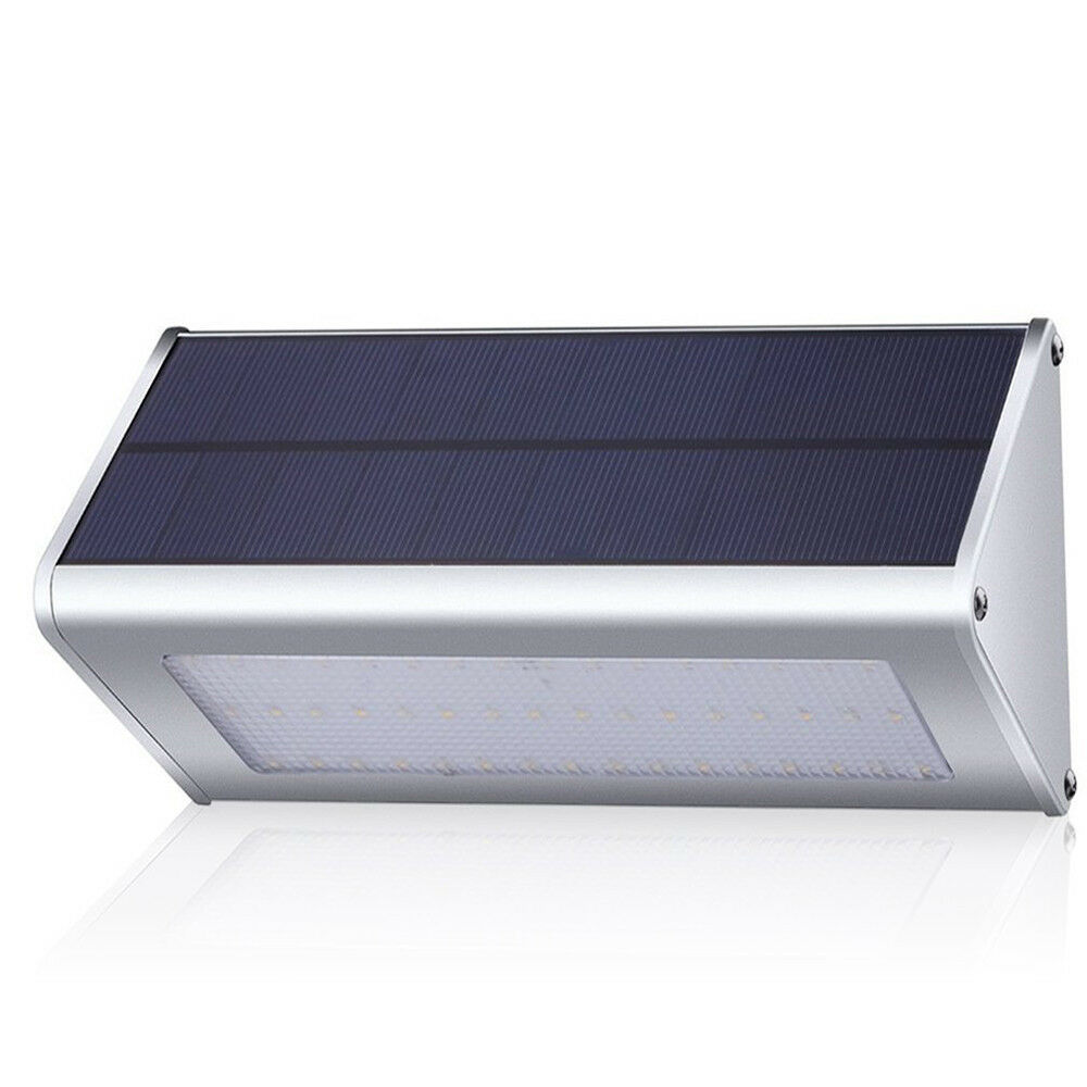 48 LED Solar Motion Sensor Light with Weatherproof Aluminum Alloy Housing