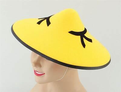 Accurato Chinese Monorotaie Feltro Cappello, Costume Accessorio-mostra Il Titolo Originale