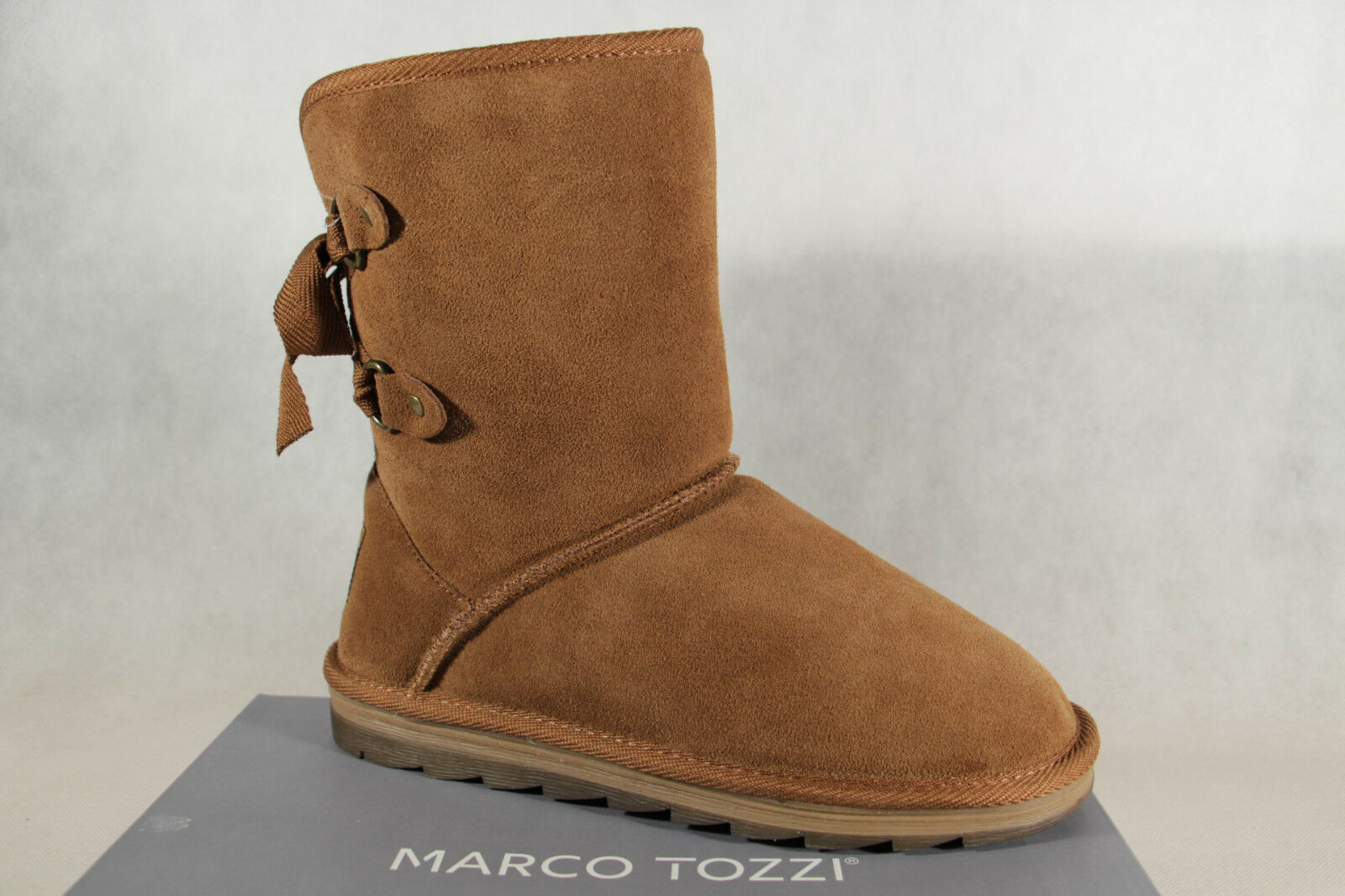MARCO TOZZI Boots Ankle Boot Boots Winter Boots Brown 26823 NEW