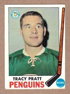 1969-70-Topps-111-Tracy-Pratt-Pittsburgh-Penguins-EX-MT-condition
