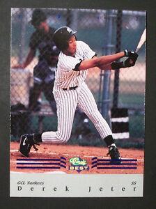 Details About 1992 Derek Jeter Classic Best Blue Bonus Rookie Card Bc22 Mint