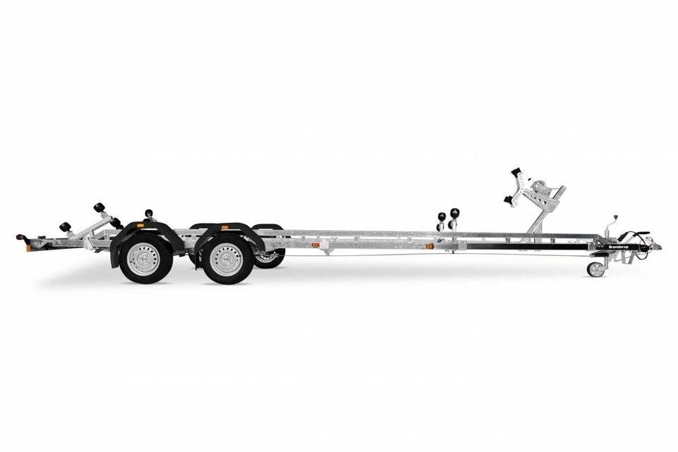 Trailer, Brenderup Brenderup SRX 2500 KG - 24 fod, lastevne