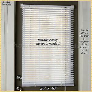 Magnetic Blind For Steel Door Window