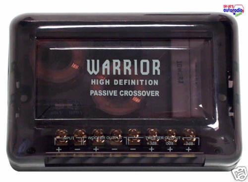 Hifonics frecuencia suave par 2-caminos Warrior serie ~~~