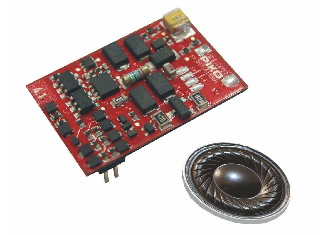 PIKO h0 56439 PIKO SMART decoder 4.1 Sound con altoparlante plux22 Merce Nuova