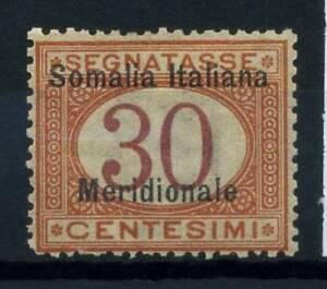 Somalia-1906-Sass-4-Nuovo-100-30-c-Segnatasse-Soprastampati