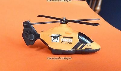 2010 POLICE SQUAD Design Exclusive RESCUE HELICOPTER☆Blue//White☆Matchbox☆loose