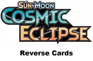 Sun & Moon - Cosmic Eclipse   Reverse Cards - Pokemon TCG