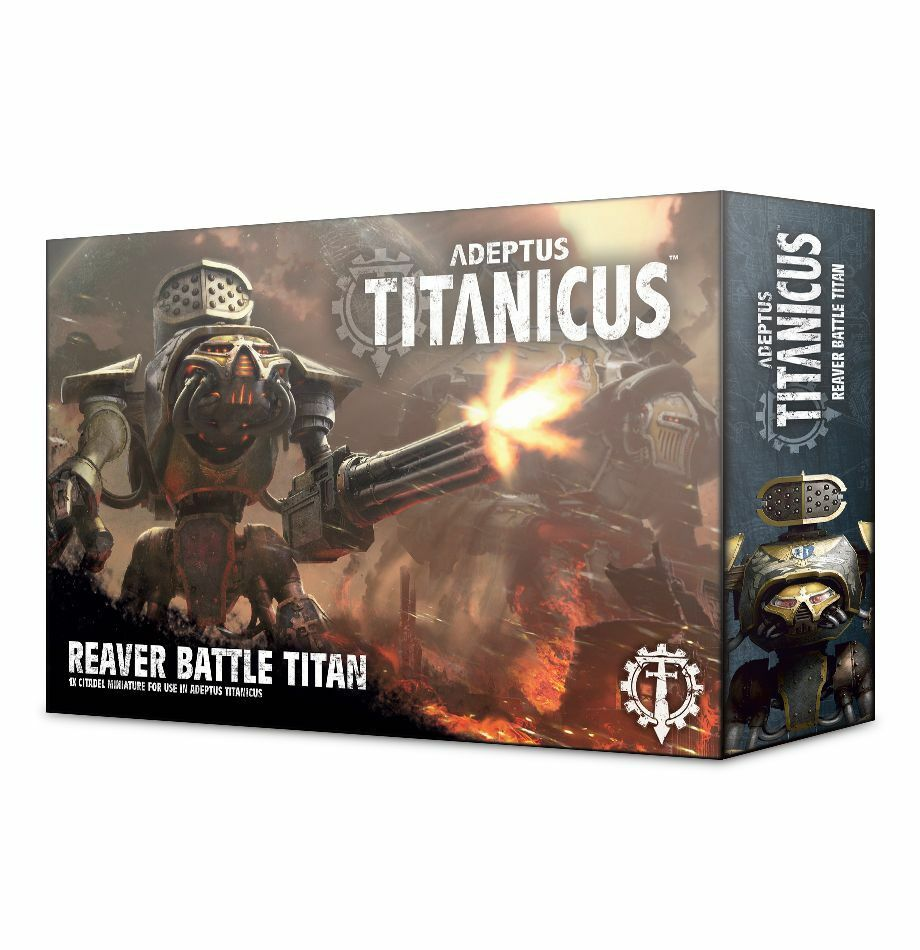 Warhammer 40.000  adeptus titanicus  reaver kampf titan gw 400-17 nib