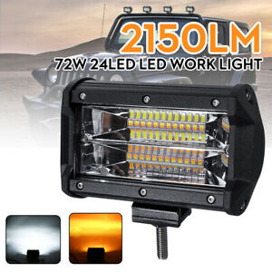 5 PCS 12V BLUE LED FLUSH SIDE MARKER LIGHT ROOF BULL BAR STEP CAB ATV 4X4 VAN