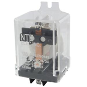 NTE Electronics R10-5A10-24F RELAY-24VAC 10AMP SPDT GEN.PURPOSE FLANGE MOUNT