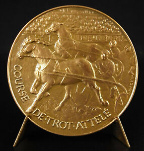 Medal-Glory-to-Rearing-French-Horse-Racing-Trot-Hitched-Horse-Breeding