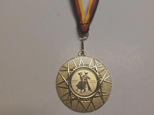 1  Pokal Kids 20 x Medaillen Deutschland-Band Turnier Emblem Pokale Pokale & Preise Zahlen Nr