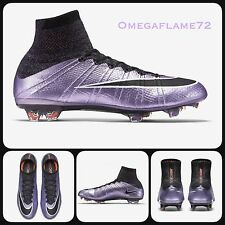 Sz 9 Nike Mercurial Superfly FG Football Boots 641858-580 Ankle Urban Lilac
