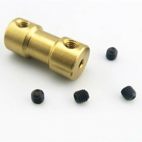2//3//3.17//4//5mm Motor Copper Shaft Coupling Coupler Connector Sleeve Adapter HOTS