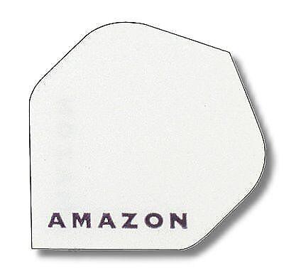 30 Stück weiß für Dartpfeile Dartfly Flights Amazon Standard 10 Set