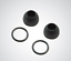 2x REPLACEMENT GASMATE POL GAS LPG PRIMUS INLET FITTING RUBBER BULL NOSE SEAL